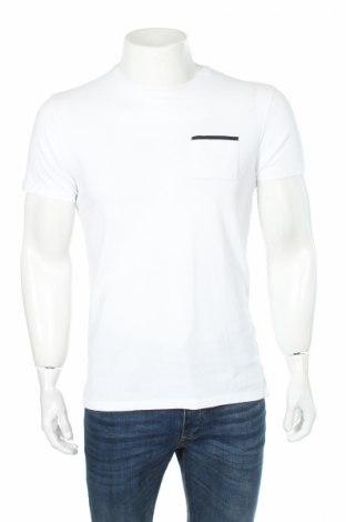 Ανδρικό t-shirt Massimo Dutti, Μέγεθος M, Χρώμα Λευκό, Τιμή 4,79€