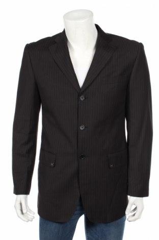Мъжко сако Ac, Размер M, Цвят Черен, 65% полиестер, 35% вискоза, Цена 7,80лв.