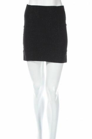 Пола, Размер XS, Цвят Черен, 70% памук, 30% полиестер, Цена 5,51лв.