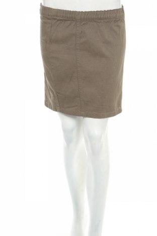 Пола Denim Co, Размер S, Цвят Зелен, 98% памук, 2% еластан, Цена 5,90лв.