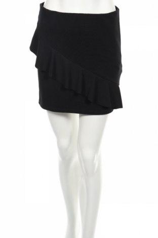 Пола Zara Trafaluc, Размер M, Цвят Черен, 98% полиестер, 2% еластан, Цена 6,40лв.