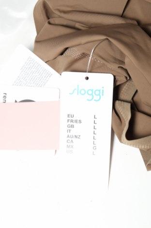 Бикини Sloggi, Размер L, Цвят Зелен, 75% полиамид, 25% еластан, Цена 16,90лв.