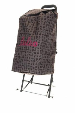 Чанта Lulu Castagnette, Цвят Кафяв, Текстил, Цена 74,12лв.