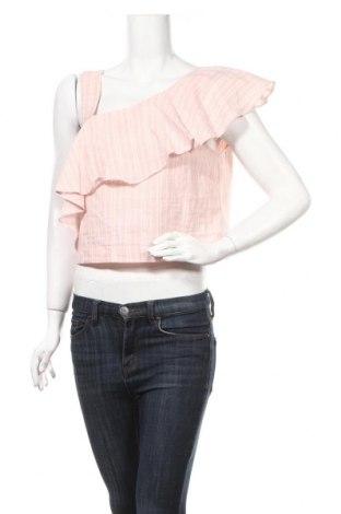Дамска блуза Edited, Размер L, Цвят Розов, Памук, Цена 16,20лв.