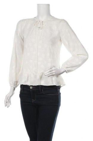 Дамска блуза Loft By Ann Taylor, Размер XS, Цвят Бял, Полиестер, Цена 11,15лв.