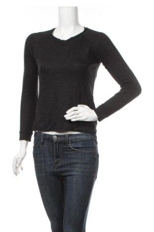 Дамска блуза Peak Performance, Размер S, Цвят Сив, 85% вискоза, 15% мерино, Цена 17,14лв.
