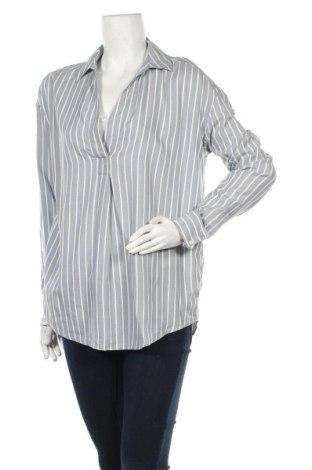 Дамска блуза Promod, Размер S, Цвят Син, 100% вискоза, Цена 4,80лв.