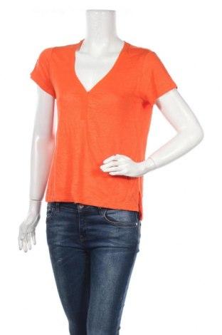 Дамска блуза Sanctuary, Размер S, Цвят Оранжев, Лен, Цена 11,34лв.