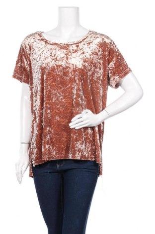 Γυναικεία μπλούζα Trend One, Μέγεθος XXL, Χρώμα  Μπέζ, 92% πολυεστέρας, 8% ελαστάνη, Τιμή 6,82€