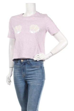 Дамска блуза Undiz, Размер M, Цвят Лилав, 98% памук, 2% полиестер, Цена 32,40лв.