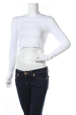 Дамска блуза Weekday, Размер S, Цвят Бял, Памук, Цена 17,02лв.