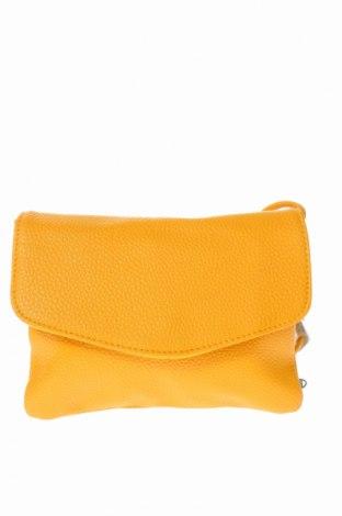 Дамска чанта, Цвят Жълт, Еко кожа, Цена 15,02лв.