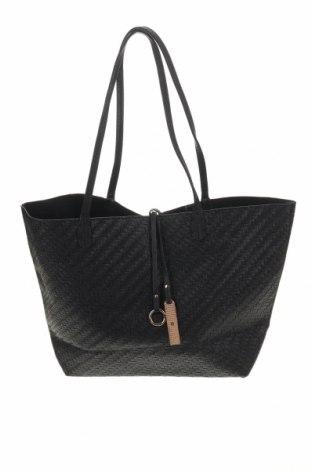 Дамска чанта, Цвят Черен, Еко кожа, Цена 23,63лв.