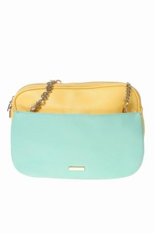 Γυναικεία τσάντα Charles & Keith, Χρώμα Μπλέ, Δερματίνη, Τιμή 9,94€