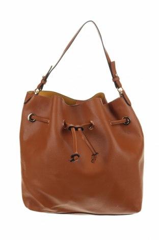 Дамска чанта H&M, Цвят Кафяв, Еко кожа, Цена 20,95лв.