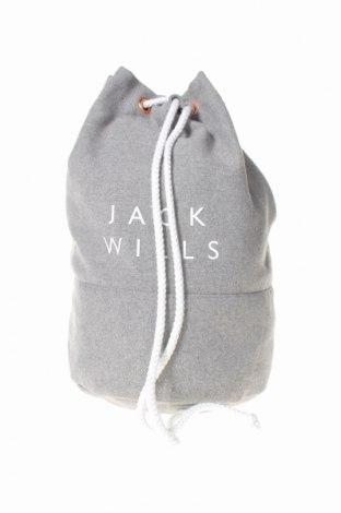 Дамска чанта Jack Wills, Цвят Сив, Текстил, Цена 21,84лв.