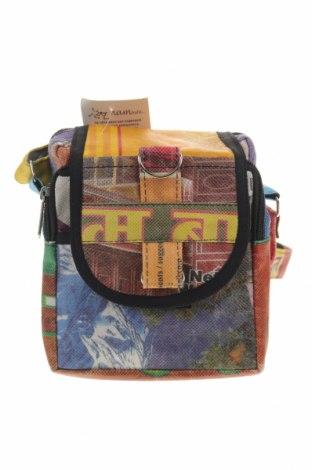 Дамска чанта Namaste, Цвят Многоцветен, Текстил, Цена 35,10лв.