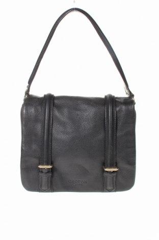 Дамска чанта Oroton, Цвят Черен, Естествена кожа, Цена 64,16лв.
