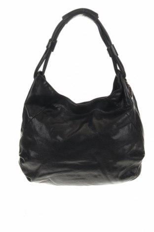Дамска чанта Oroton, Цвят Черен, Естествена кожа, Цена 77,95лв.