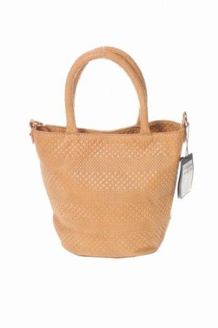 Γυναικεία τσάντα Rubi, Χρώμα  Μπέζ, Δερματίνη, Τιμή 9,55€