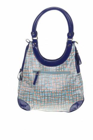Дамска чанта Sienna, Цвят Многоцветен, Текстил, еко кожа, Цена 19,79лв.