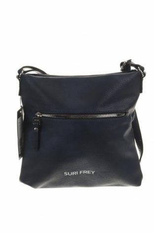 Дамска чанта Suri Frey, Цвят Син, Еко кожа, Цена 56,55лв.