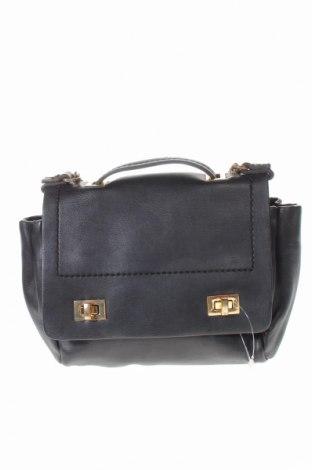 Дамска чанта Zara, Цвят Черен, Еко кожа, Цена 19,79лв.