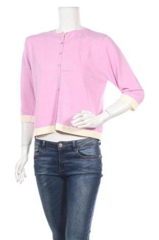 Γυναικεία ζακέτα, Μέγεθος S, Χρώμα Ρόζ , 65% βισκόζη, 35% πολυαμίδη, Τιμή 5,14€