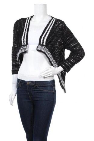 Дамска жилетка Bianca Nygard, Размер S, Цвят Черен, 65% вискоза, 35% памук, Цена 6,28лв.