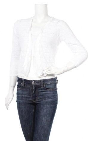 Дамска жилетка Cynthia Rowley, Размер S, Цвят Екрю, 100% лен, Цена 45,89лв.