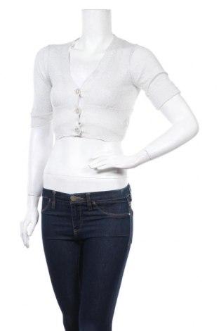 Дамска жилетка Majora, Размер S, Цвят Сив, 55% рамия, 30% памук, 15% метални нишки, Цена 5,51лв.
