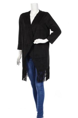 Дамска жилетка Minimum, Размер M, Цвят Черен, 100% полиестер, Цена 12,90лв.