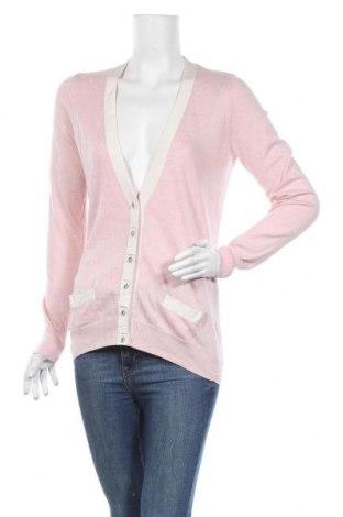 Дамска жилетка Peteralexander, Размер M, Цвят Розов, 95% памук, 5% кашмир, Цена 23,94лв.