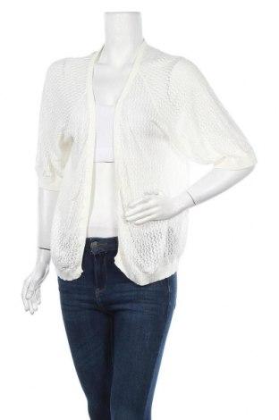 Дамска жилетка Princesse Tam Tam, Размер L, Цвят Бял, 48% памук, 48% модал, 4% полиамид, Цена 52,92лв.
