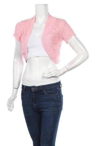Γυναικεία ζακέτα Qed London, Μέγεθος M, Χρώμα Ρόζ , 50% βαμβάκι, 50%ακρυλικό, Τιμή 3,70€