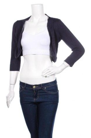 Γυναικεία ζακέτα Soya Concept, Μέγεθος S, Χρώμα Μπλέ, 75% βισκόζη, 25% πολυαμίδη, Τιμή 4,87€