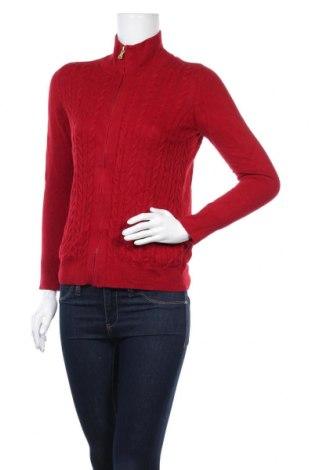 Γυναικεία ζακέτα Talbots, Μέγεθος M, Χρώμα Κόκκινο, 55% βαμβάκι, 35% πολυεστέρας, 10% μαλλί, Τιμή 7,80€
