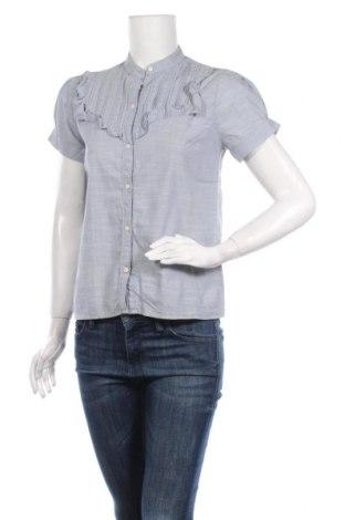 Дамска риза Abercrombie & Fitch, Размер S, Цвят Син, Цена 29,09лв.