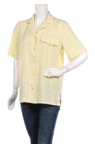 Дамска риза City life, Размер L, Цвят Жълт, 52% вискоза, 48% полиестер, Цена 21,00лв.