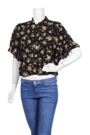 Дамска риза Clockhouse, Размер M, Цвят Многоцветен, Вискоза, Цена 21,00лв.