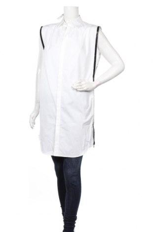 Дамска риза Dsquared2, Размер L, Цвят Бял, Памук, Цена 286,08лв.