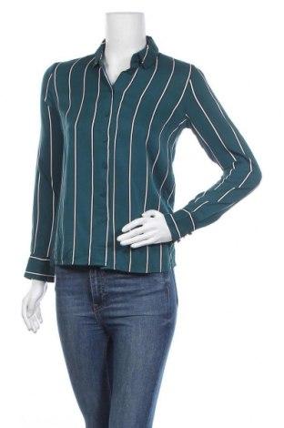Γυναικείο πουκάμισο Pimkie, Μέγεθος XS, Χρώμα Πράσινο, Βισκόζη, Τιμή 13,22€