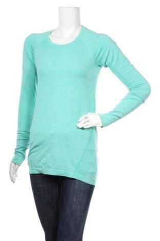 Дамска спортна блуза H&M Sport, Размер M, Цвят Зелен, Цена 19,95лв.