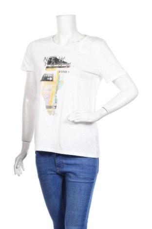Дамска тениска DKNY, Размер S, Цвят Бял, Памук, Цена 51,75лв.