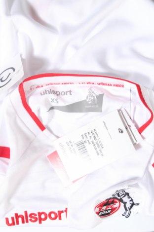 Дамска тениска Uhlsport, Размер XS, Цвят Бял, Полиестер, Цена 19,60лв.
