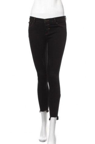 Дамски дънки, Размер M, Цвят Черен, Памук, Цена 18,11лв.