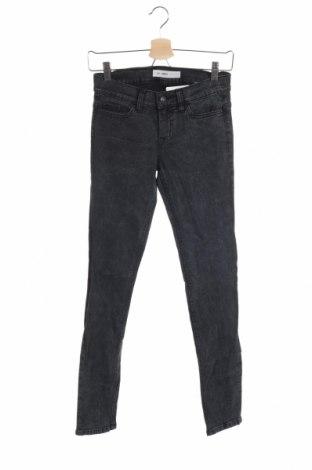 Дамски дънки, Размер XS, Цвят Син, 99% памук, 1% еластан, Цена 23,63лв.