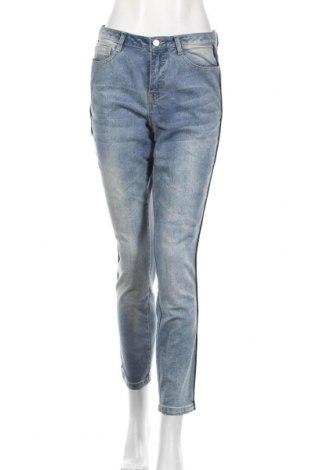 Дамски дънки Ambria, Размер M, Цвят Син, 79% памук, 19% полиестер, 2% еластан, Цена 13,23лв.
