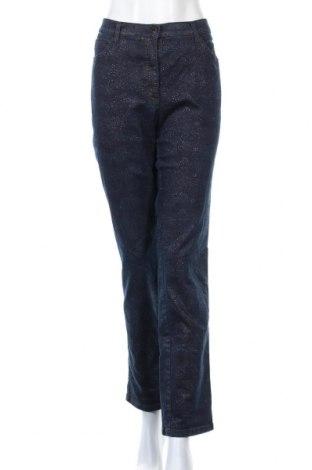 Дамски дънки Brax, Размер XL, Цвят Син, Цена 35,91лв.