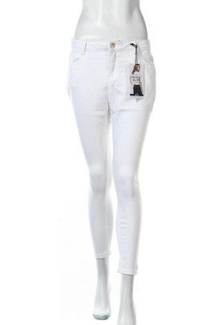 Дамски дънки Dorothy Perkins, Размер M, Цвят Бял, 86% памук, 12% полиестер, 2% еластан, Цена 41,60лв.